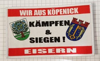 """Aufnäher """" Kämpfen und Siegen"""""""