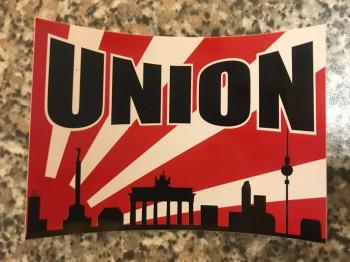 """10 Aufkleber """"Union Sonne"""""""