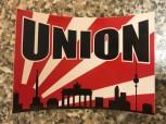 """Aufkleber """"Union Sonne"""""""