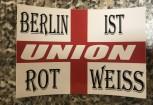 """10 Aufkleber """"Rot Weiss"""""""