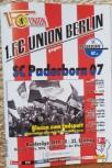 Programm 1.Fc Union- Paderborn