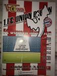 Programm 1.FC Union-FC Bayern